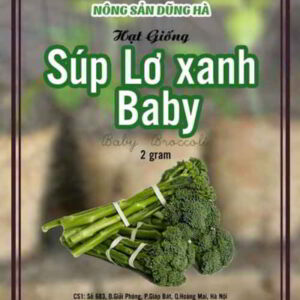 hat giong sup lo xanh baby